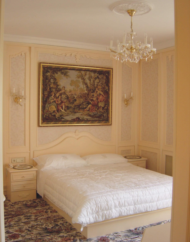 Elegáns hálószoba , Tervezte : Belloni Ákos
