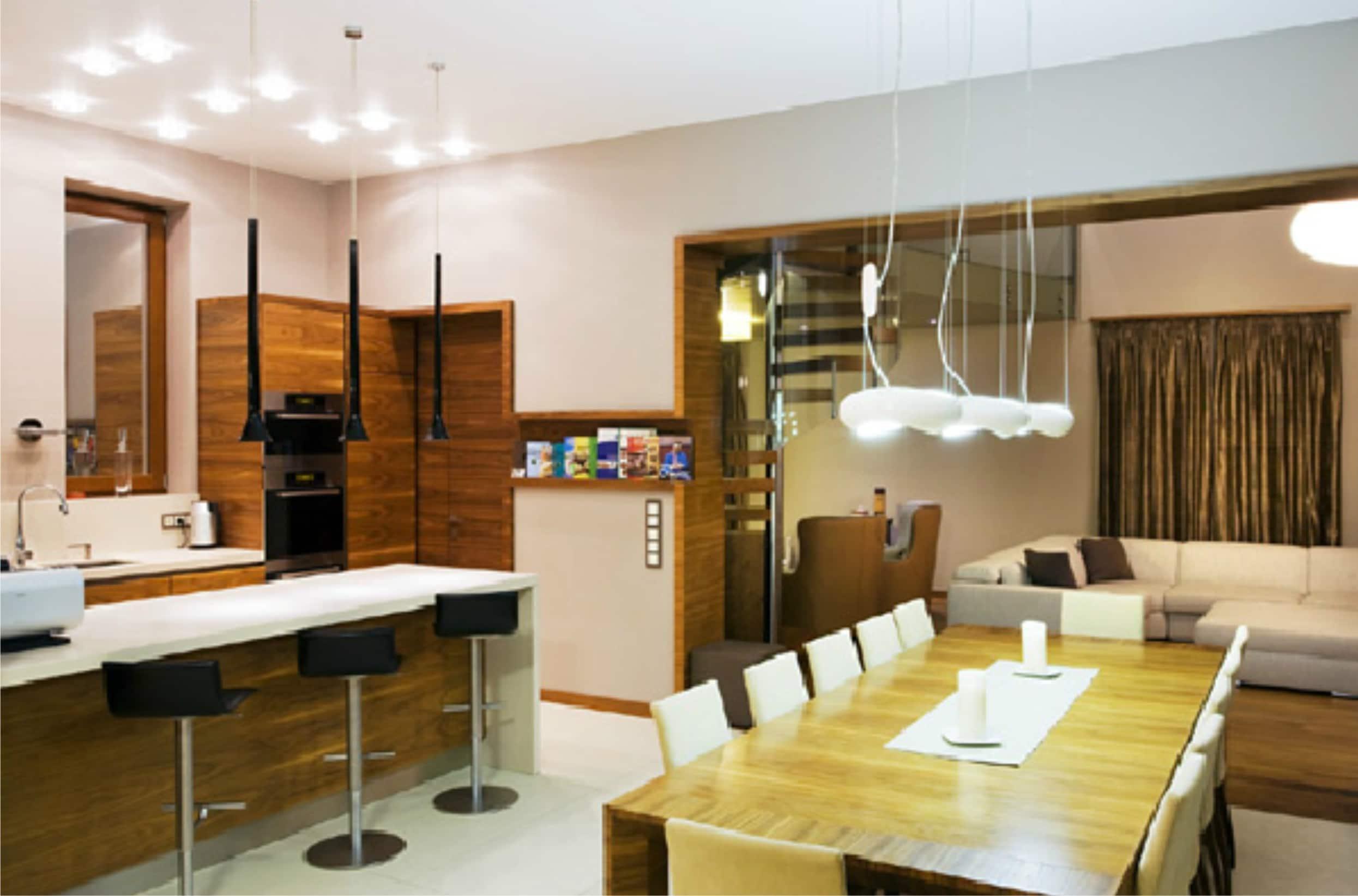 Konyha - étkező - nappali